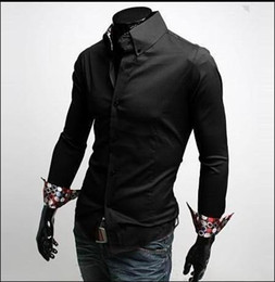Wholesale 2013 New Fashion Style Mens shirt Men s Long Sleeve Shirts Men Casual Slim Shirt AH C278