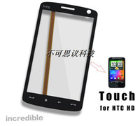 For HTC   Touch Screen For HTC HD T8282 T8288 Touch Panels Hand Control Screen Hand Writing Screen FreeShipping