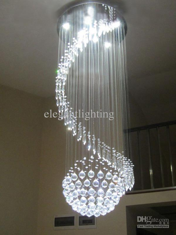 Contemporary Crystal Pendant Light Ceiling Lamp Chandelier – Crystal Hanging Chandelier