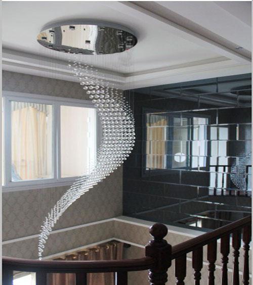 Modern Wave Crystal Pendant Lamp Ceiling Light LED Lighting Rain – Raindrop Chandelier Crystals
