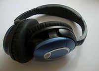 Best quality Blue Black acoustic noise cancelling headphone ...
