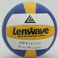 Wholesale Lenwave PVC Volleyball soft leather inflatable volleyball LW