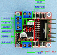 Cheap L298n motor driver board module stepper motor smart car dc motor robot