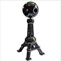 other other other Hd oriental pearl usb computer night vision webcam built-in metal shell lantern