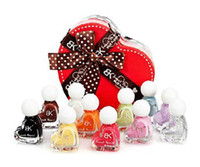 other other other Bk nude color candy nail polish oil set heart gift box gift girlfriend gifts