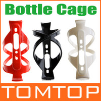 Wholesale Bike Bicycle Plastic Water Bottle Holder Cage Rack White Red Black H8600
