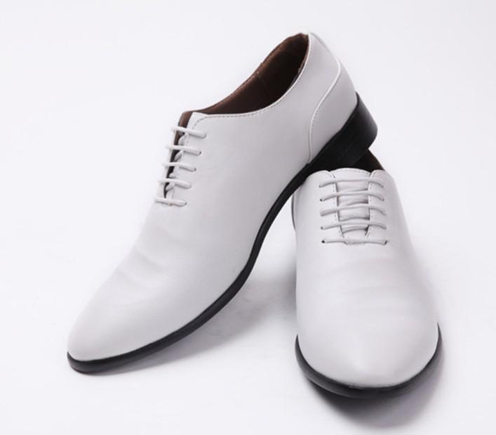 groom shoes soft wedding white shoes cuspate