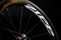 Wholesale ZIPP FIRECREST Dimple Surface Carbon Tubular Clincher Wheels