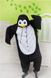 Wholesale Cosplay Costume Kigurumi Animal penguin Hoodies Pajamas Causal Lounge Sleepwear Brand New amp Official Licensed
