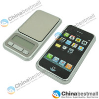 Wholesale 500gx g Mini Digital Pocket Scale with a close resemblance of an iPhone design