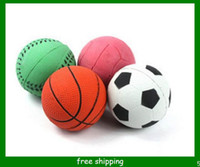 Wholesale pet toys solid silicone elastic ball dog cat toy