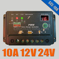 Wholesale 10A V V Auto intelligence Solar Cell battery Charge Controller Regulators