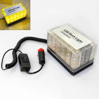 Wholesale Amber LED Emergency Waterproof Magnets Top Construction Strobe Lights