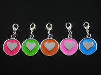 Wholesale Heart Pet ID F006 Tag DIY Hang Charms Pendant Zinc Alloy Brand New pet products dog tag dog