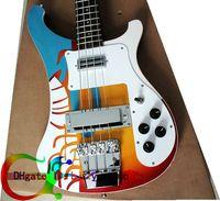 Solid bass guitar - Custom Bass Guitars string Bass OEM Electric Bass Guitar colored VOS Speical Offer