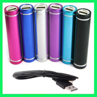 Wholesale External Portable Battery mAh Mobile Power Bank charger for iPhone G S GS G iPod Digital Devices