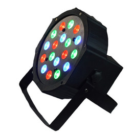 Wholesale Freeshipping Hot Sell W High Power RGB LED Par Light With DMX512 Master Slave Stand Megar Par Profile Stage Light DJ Equipments