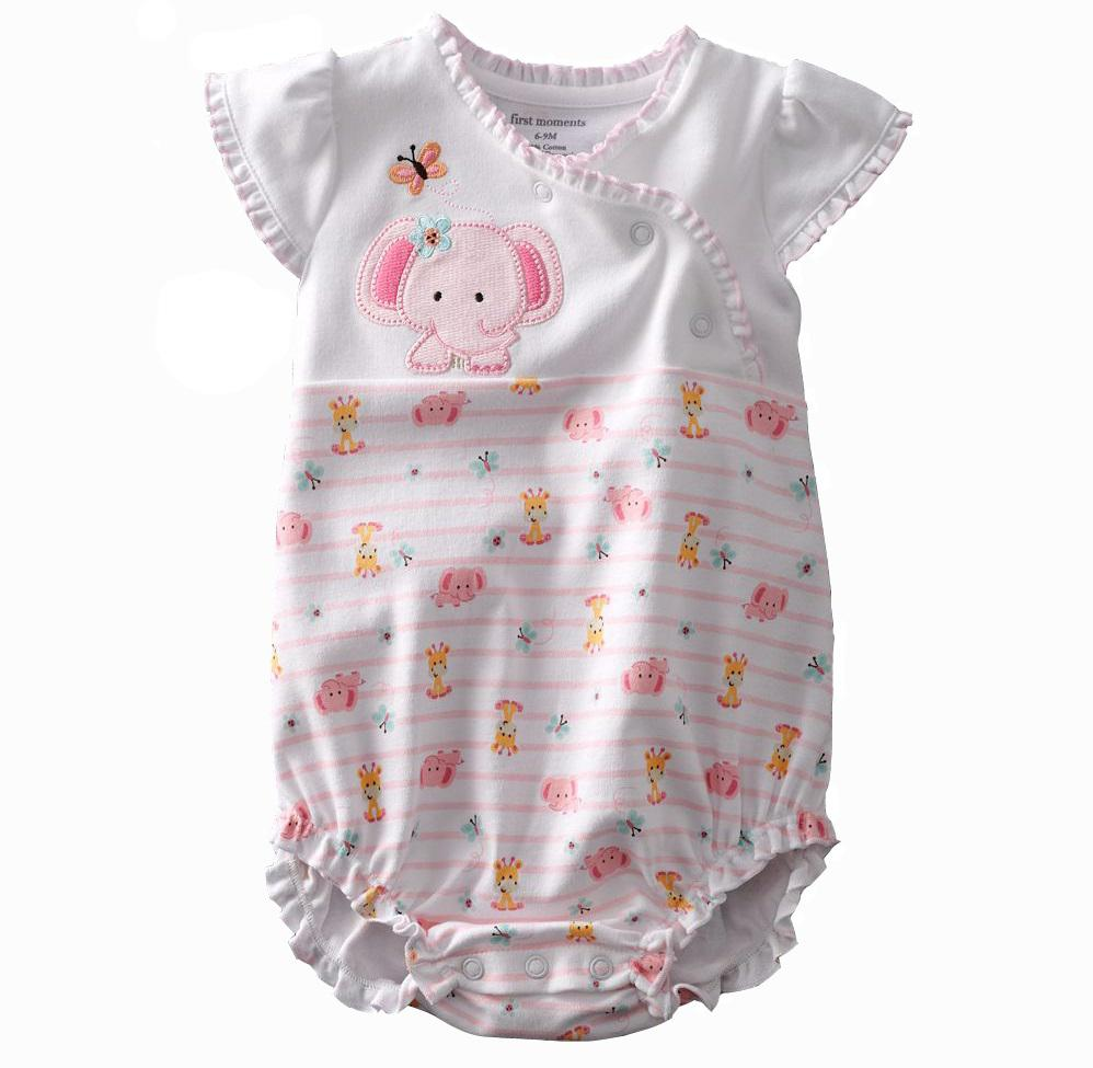 Baby Rompers Bodysuits One-piece Clothes Cotton Outfits ...