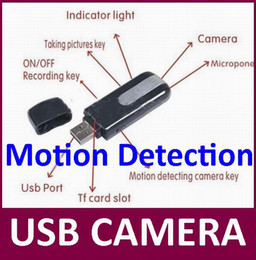 Wholesale Motion Detection USB DISK Camera Mini DV Digital video recorder USB Drive PC webcam high quality with CE certification