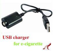Wholesale USB Charger Electronic Cigarette EGO Charger for ego ego t ego w ego c Battery e cigarette V mA V input
