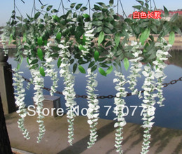 102CM 20PCS artificial wisteria bean flower vine wedding party living room decoration silk flower