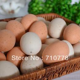Wholesale 30PCS Artificial fake eggs model food model props restaurant kitchen decoration