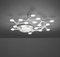 Led Crystal Glass Pendant Light Chandelier Meteoric Shower Stair ...