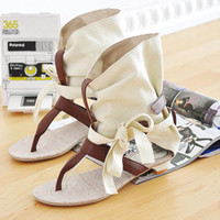 Wholesale Rome Style Fashion Summer Flat Leather Sandals For Women Dress Casual Ankle Female Oxford Shoes