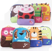 Wholesale 2013 Children Backpacks Bags Children Animal Backpack Kids School Bags Cartoon BAG Child Holiday Picnic Bags B0194 EMS