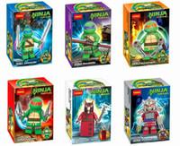 Wholesale Action Figures Minifigures a set suit with arms skateboard Mirage Teenage Mutant Ninja Turtles Package no original box