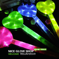 Wholesale LED Light Glow Sticks Love hearted Large Light Stick Concert Bars Party Props Kids Toys