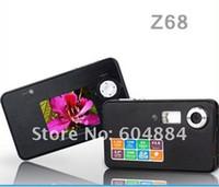 Wholesale Z68 LCD screen digital video Camera MP pixel waterproof camera