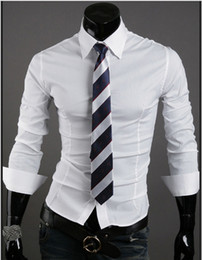 Wholesale Mens Designer Clothing mens dress shirt styles