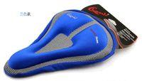envío gratuito de Bicicletas Bicicletas de la Cubierta del Asiento de la Bicicleta Suave Gel 3D de Silicona Asiento de la Silla de montar funda de Cojín Cojín de Silla de Ciclismo cómodo práctico