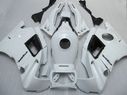 Descuento 91 carenados honda cbr 7 Regalos carenados fijados para Honda CBR600 F2 1991 1992 1993 1994 CBR 600F CBR600F2 91 92 93 94 carenados blancos personalizados ac43