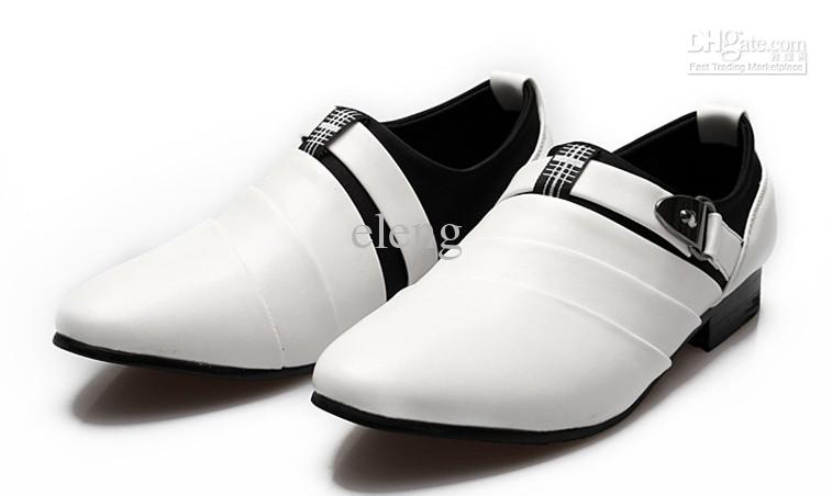 Wholesale Men Dress Shoes White Leather - Best Mens White Leather ...