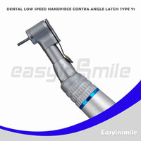 Wholesale easyinsmile Dental low speed handpiece High Precision contra angle with E Type head Contra angle