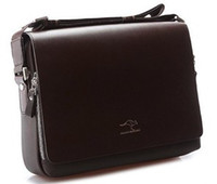 Wholesale 2013New arrival men shoulder bag high quality PU leather briefcase messenger business bag handbags G024