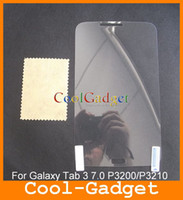 Wholesale Clear Screen Guard Protector film Cover for Samsung Galaxy Tab P3200 P3210 no Retail Package MSP659