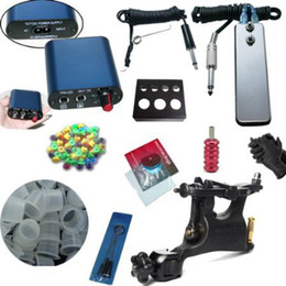 Wholesale Hot Newest Tattoo Kit SWASHDRIVE WHIP Rotray Machine MINI Power Supply
