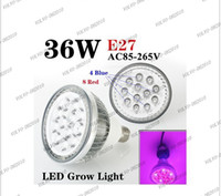 Wholesale LLFA524 w E27 V High power LED Grow light for flowering plant and hydroponics system