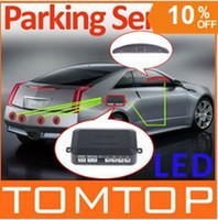 Wholesale Car LED Parking Reverse Backup Radar System with Backlight Display Sensors colors