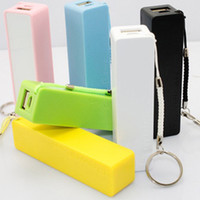 Wholesale Portable mobile Power Bank mah Perfume Universial USB External battery charger for Mobile Phone MP3 digital product colors wwmy1688