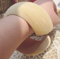 wood custom order is accept normal good wood DIY unfinished wooden bangles wide bangle bracelet jewelry 20pcs lot