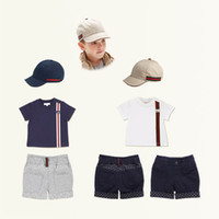 baby wholesale baby boy 3pcs clothing sets summer kids suits...