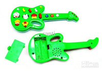 Plastic baby guitar toy - Baby Electronic Toys With Kid s Song Novel Electric Guitar Music Toys