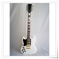 Solid Body left hand electric guitar - New Brand SG Left Handed Electric Guitar With Pickup