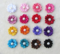 Headbands   Fashion hair accessories high quality pearl flower costume jewelry hair flower free shipping
