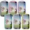 Samsung Galaxy S4 Cases Cover For Samsung Galaxy S Iv S4 I9500 TPU Wrap Up Case w Built in Screen Protector 100PCS DHL Free J 07012