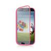 TPU Wrap Up Case For Samsung Galaxy S4 s iv s4 i9500 Case Colorful with Built in Screen Protector DHL Free 150PCS J 07012